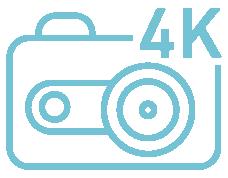 4K UHD Aufnahme