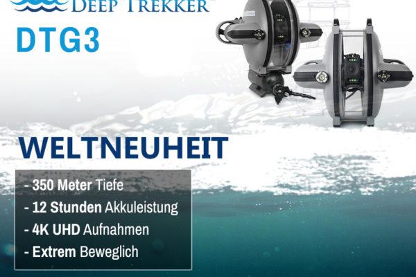 Weltneuheit – Deep Trekker DTG3 Unterwasserdrohne